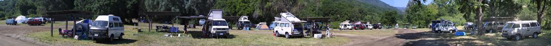 The VW Syncro Community.  Photo by Warren Chapman