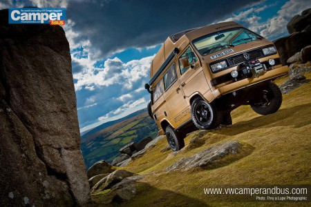 Rebecca Williams Syncro Makes Camper & Bus Magazine