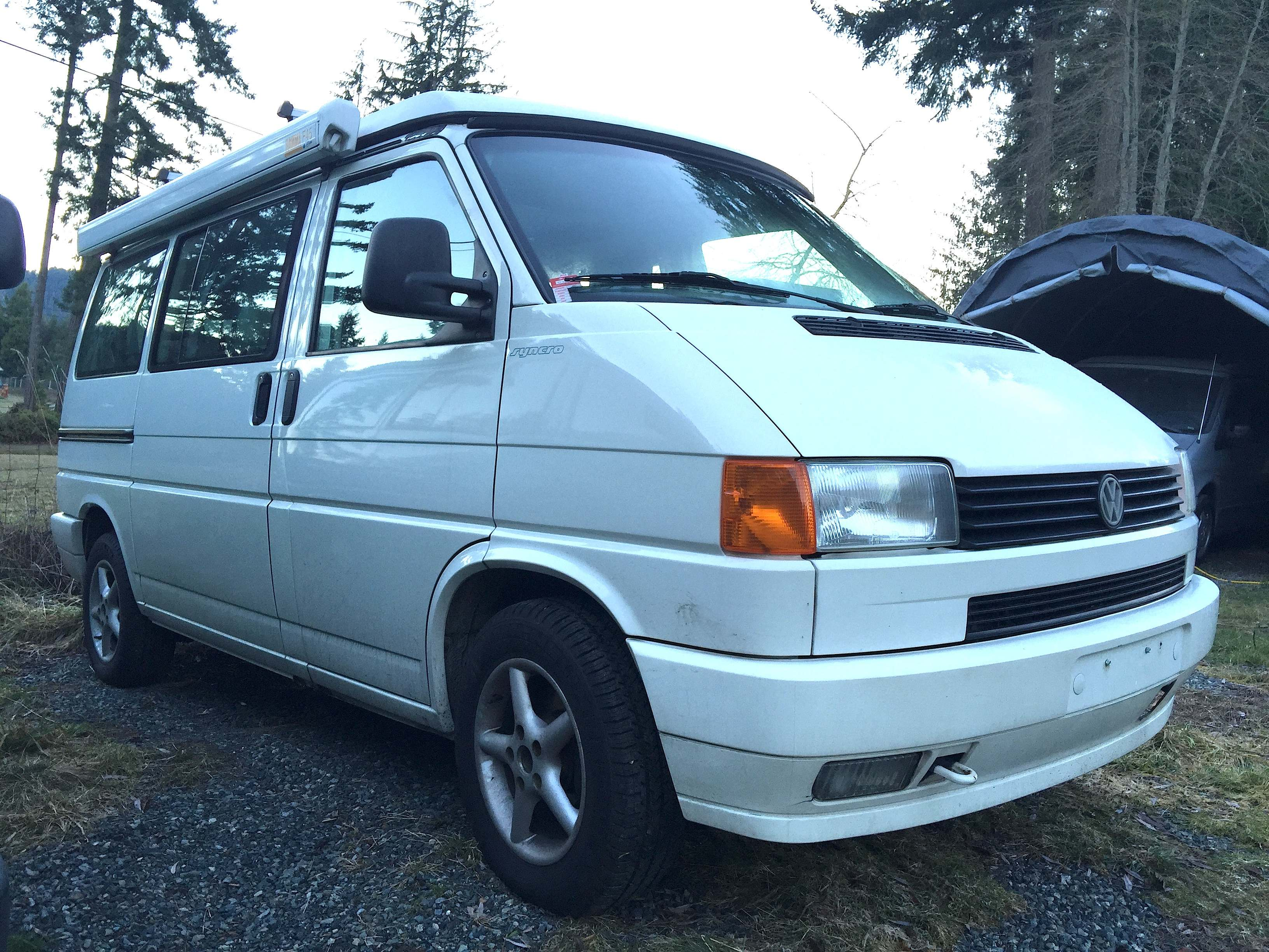 1996 VW Syncro 4x4 Eurovan Westfalia camper