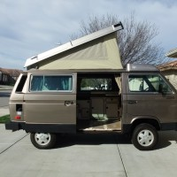 SOLD-1986 VANAGON SYNCRO 4WD CAMPMOBILE FULL CAMPER WESTFALIA $34500