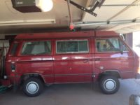 1987 SYNCRO WESTFALIA SOLD