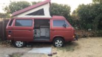 1987 VW SYNCRO / PATRFINDER ENGINE / OPORTUNITY