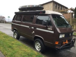 Syncro Westfalia with Subaru engine