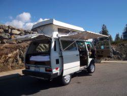 1987 VW SYNCRO CAMPER VAN