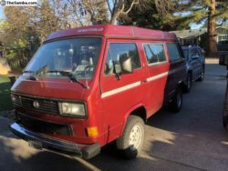 1987 Syncro with pop-top
