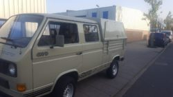 1991 VW t3 doka syncro 1.6 turbodiesel with rare topper