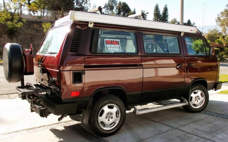 1991 Volkswagen Full Camper Syncro 4wd Westfalia Vanagon