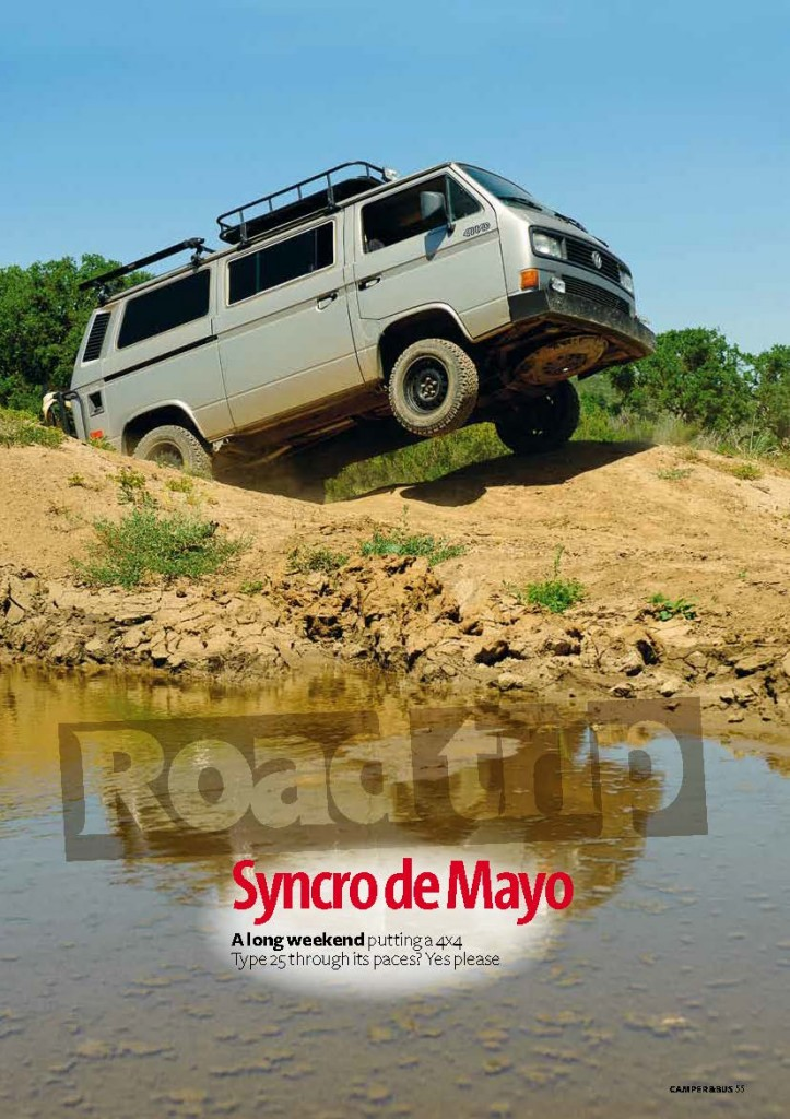 Syncro de Mayo 2011 P. 1 By Richard Kimbrough